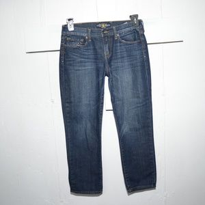 Lucky Brand Jeans - Lucky brand womens capris size 8 -842-